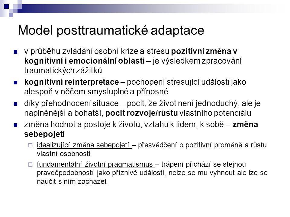 Model posttraumatické adaptace