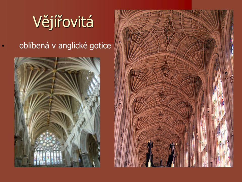 Vějířovitá oblíbená v anglické gotice