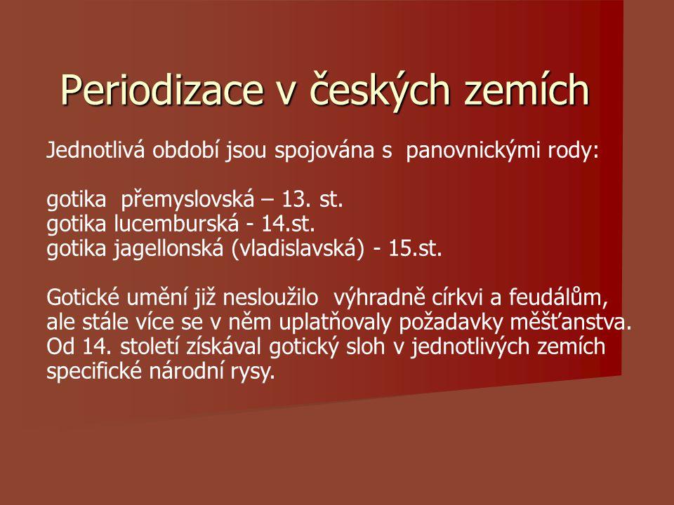 Periodizace v českých zemích