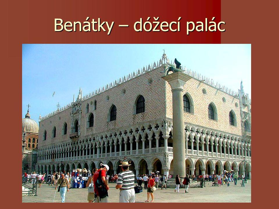 Benátky – dóžecí palác