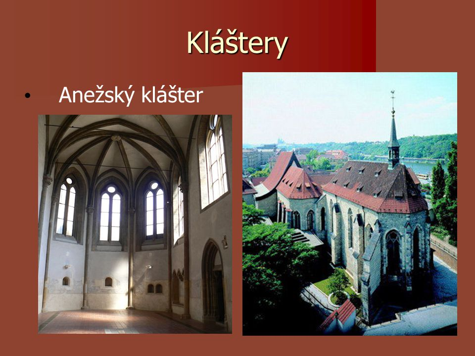 Kláštery Anežský klášter