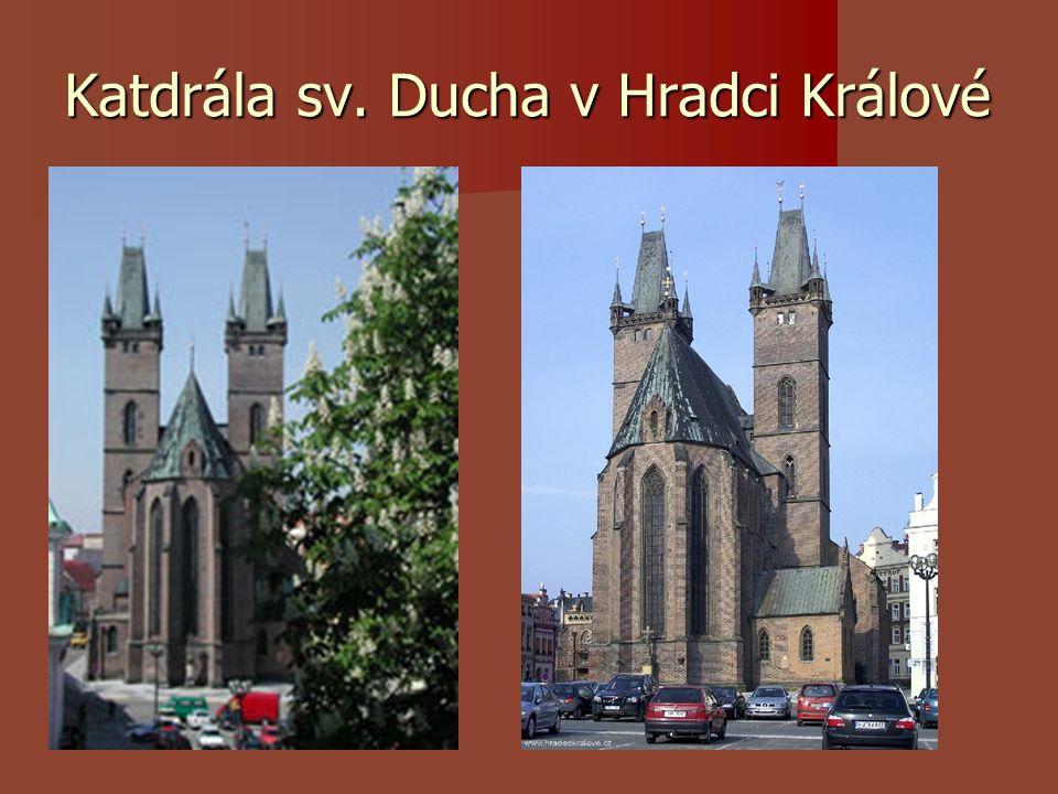 Katdrála sv. Ducha v Hradci Králové