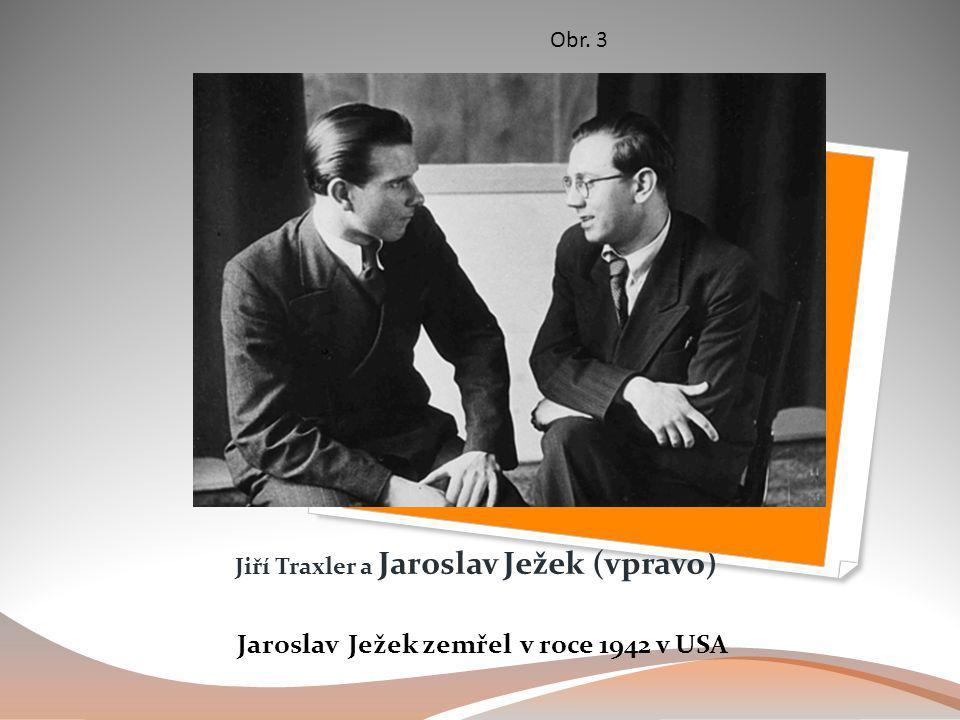 Jiří Traxler a Jaroslav Ježek (vpravo)