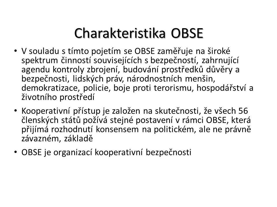 Charakteristika OBSE