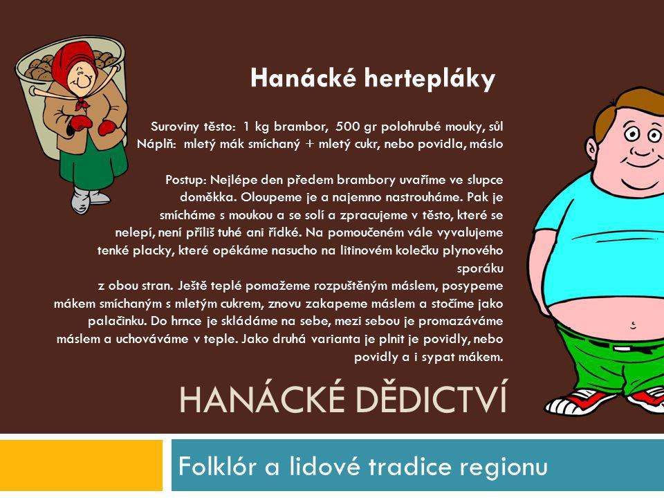 Folklór a lidové tradice regionu