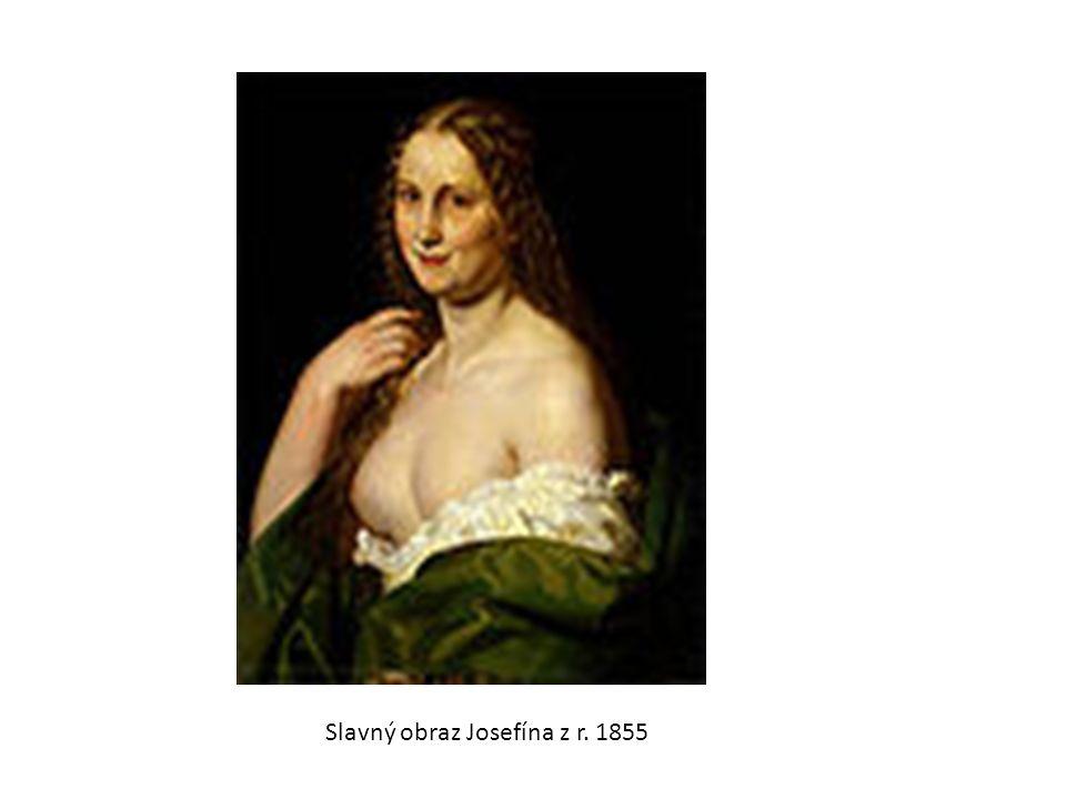 Slavný obraz Josefína z r. 1855