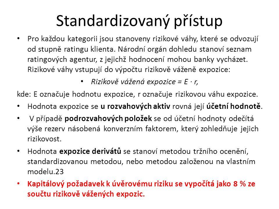 Standardizovaný přístup