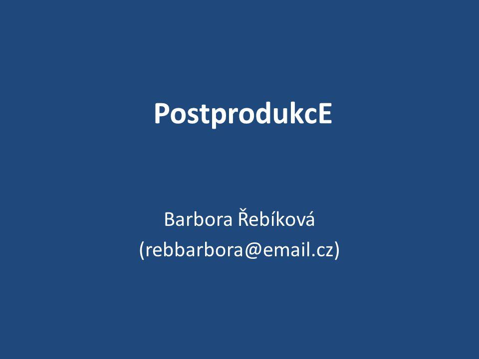 Barbora Řebíková (rebbarbora@email.cz)