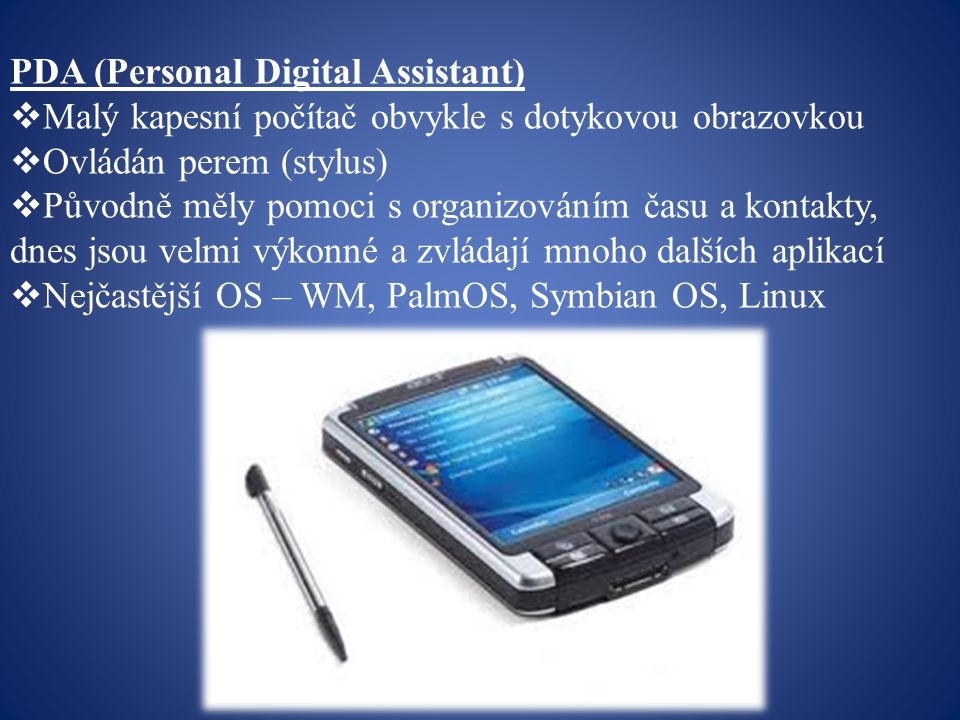 PDA (Personal Digital Assistant)