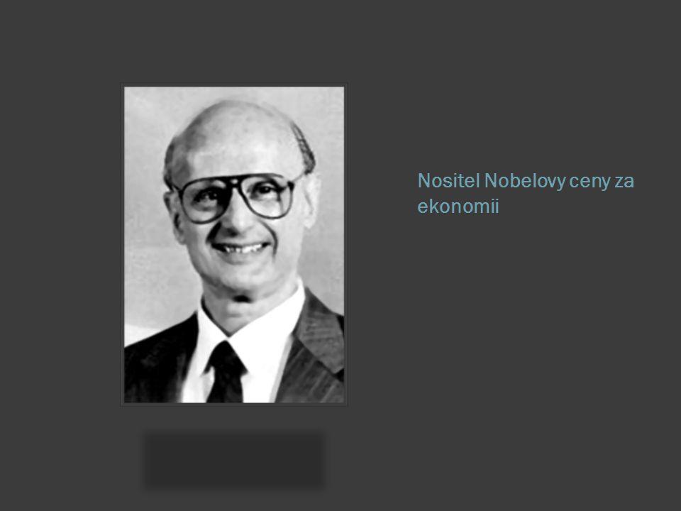 Nositel Nobelovy ceny za ekonomii