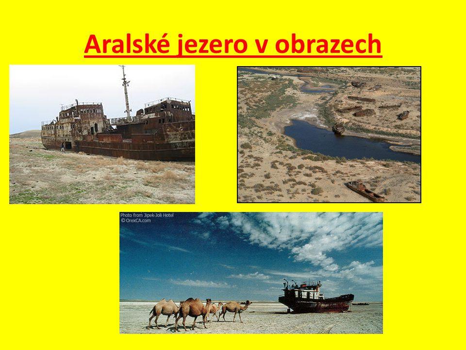 Aralské jezero v obrazech