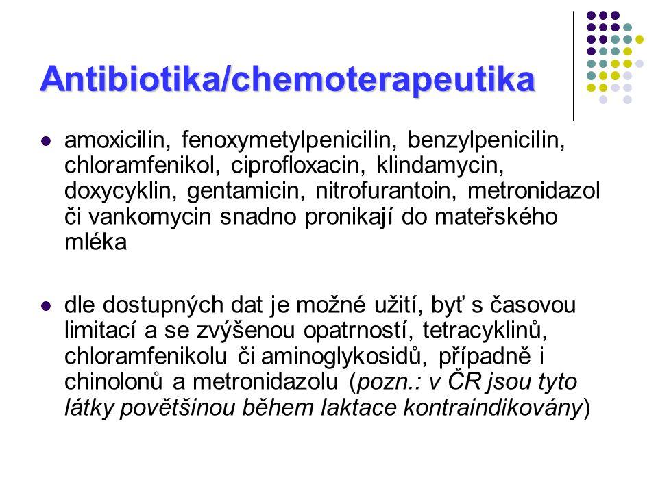 Antibiotika/chemoterapeutika