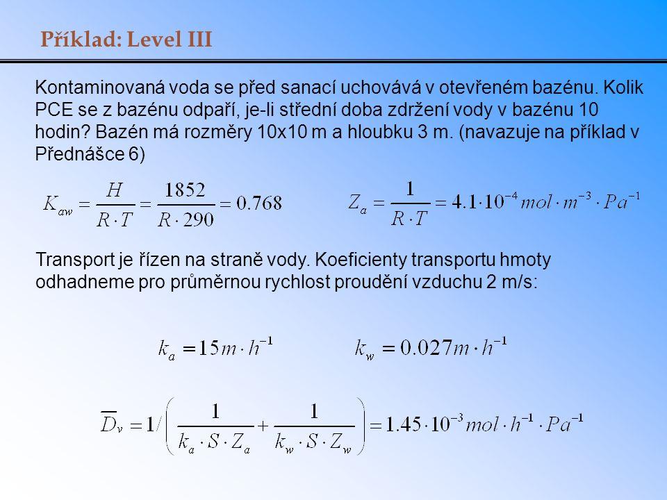 Příklad: Level III
