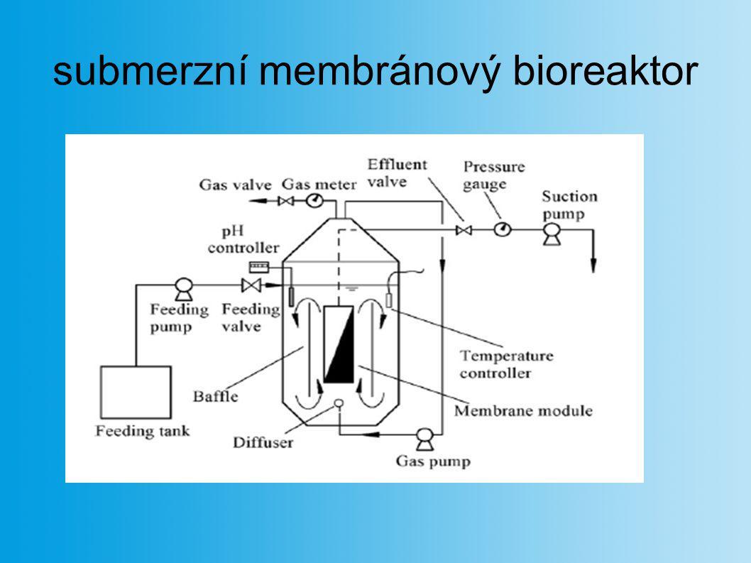 submerzní membránový bioreaktor