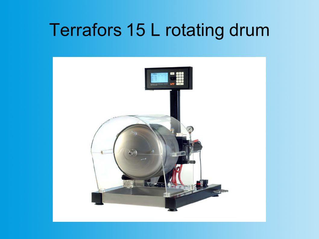 Terrafors 15 L rotating drum