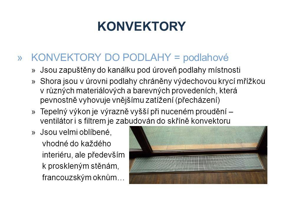 KONVEKTORY KONVEKTORY DO PODLAHY = podlahové