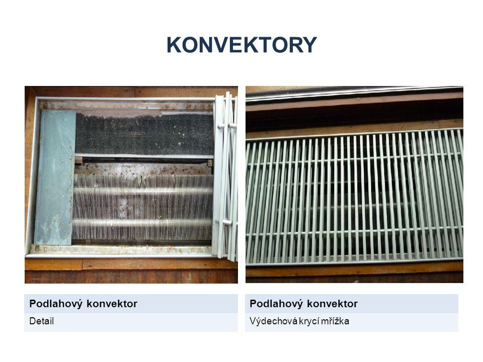KONVEKTORY Podlahový konvektor Podlahový konvektor Detail