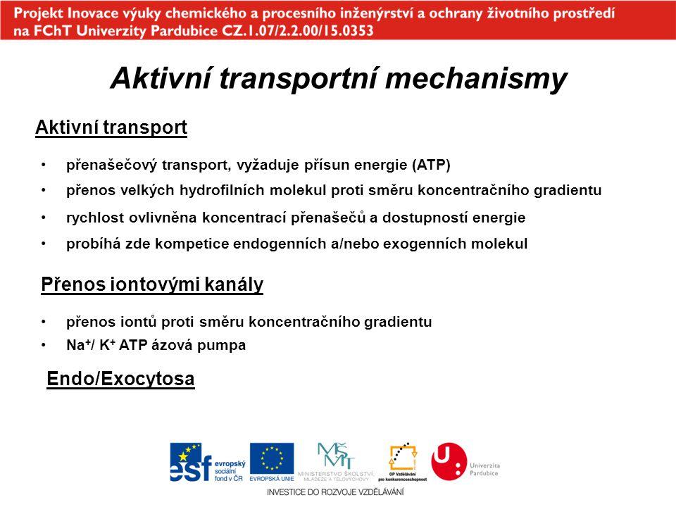 Aktivní transportní mechanismy