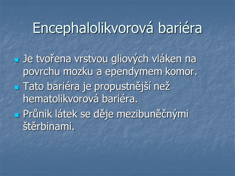 Encephalolikvorová bariéra