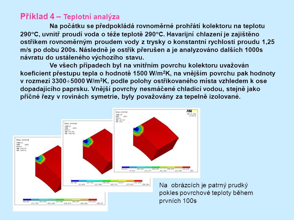 Příklad 4 – Teplotní analýza