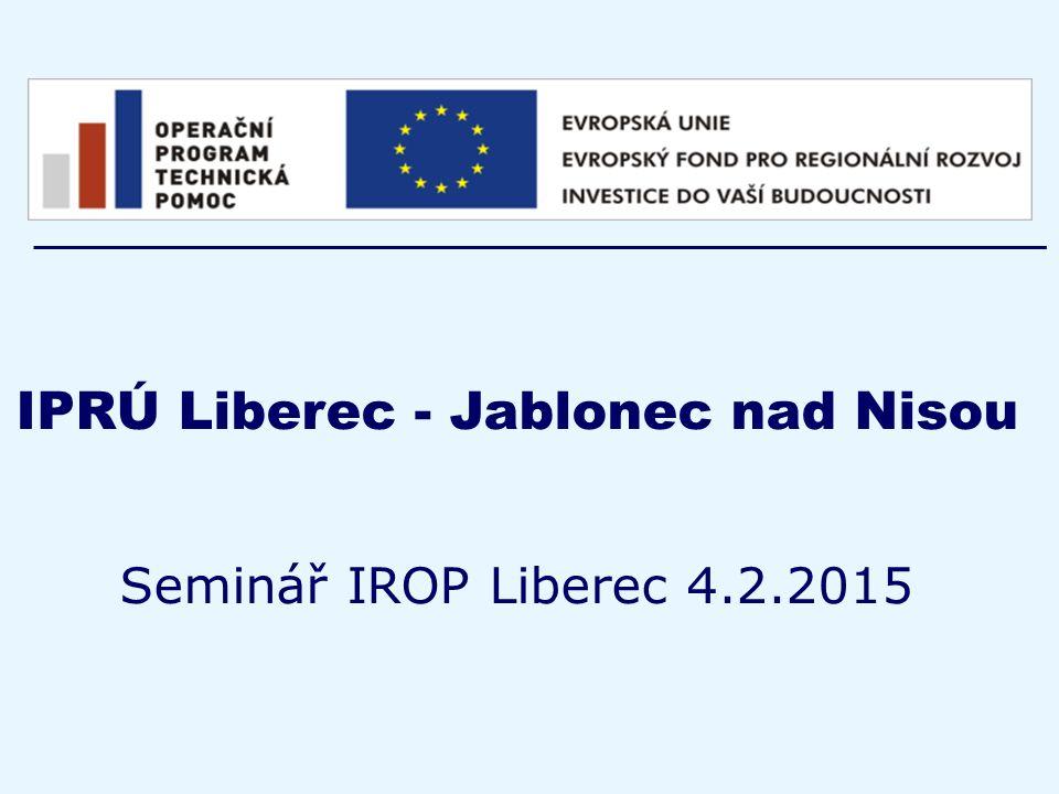 IPRÚ Liberec - Jablonec nad Nisou