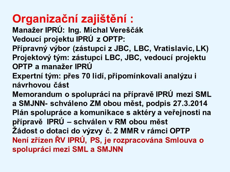 Organizační zajištění :