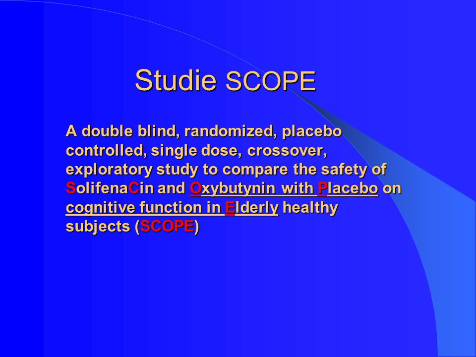 Studie SCOPE