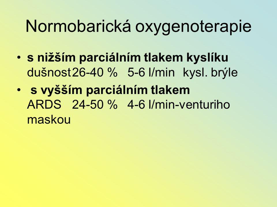 Normobarická oxygenoterapie