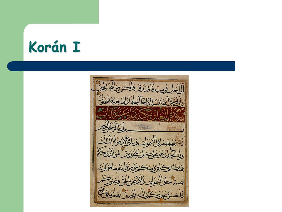 Korán I