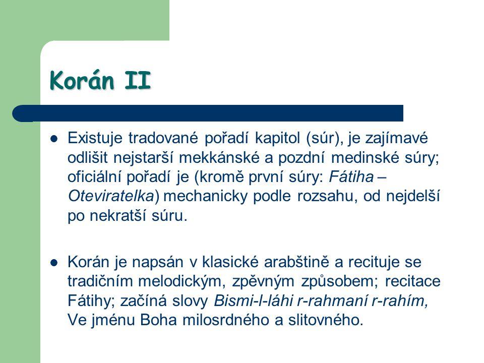 Korán II