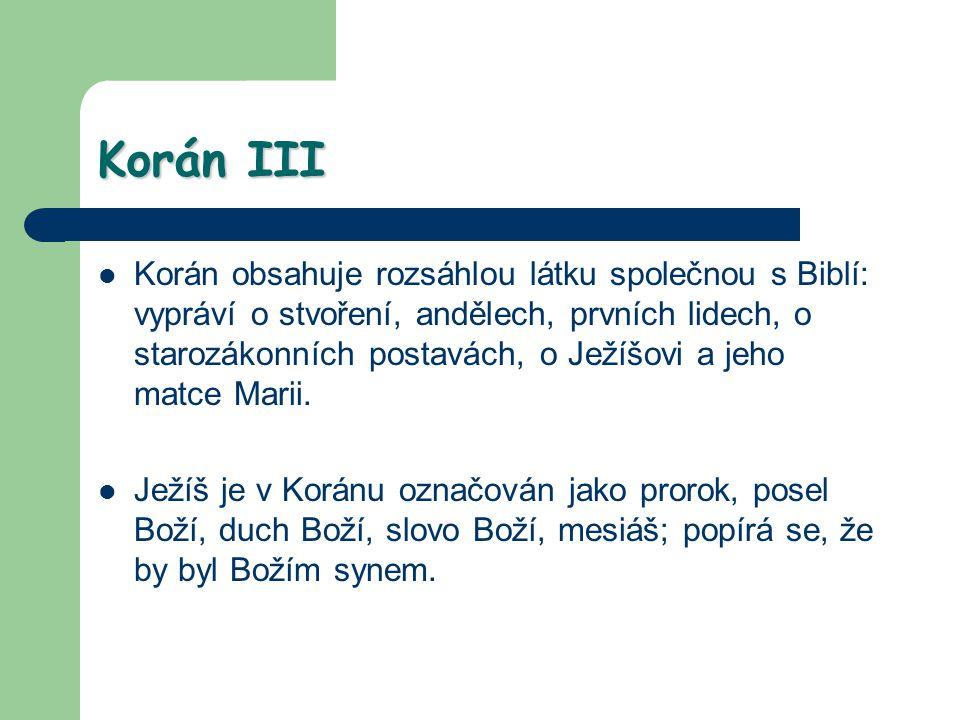 Korán III