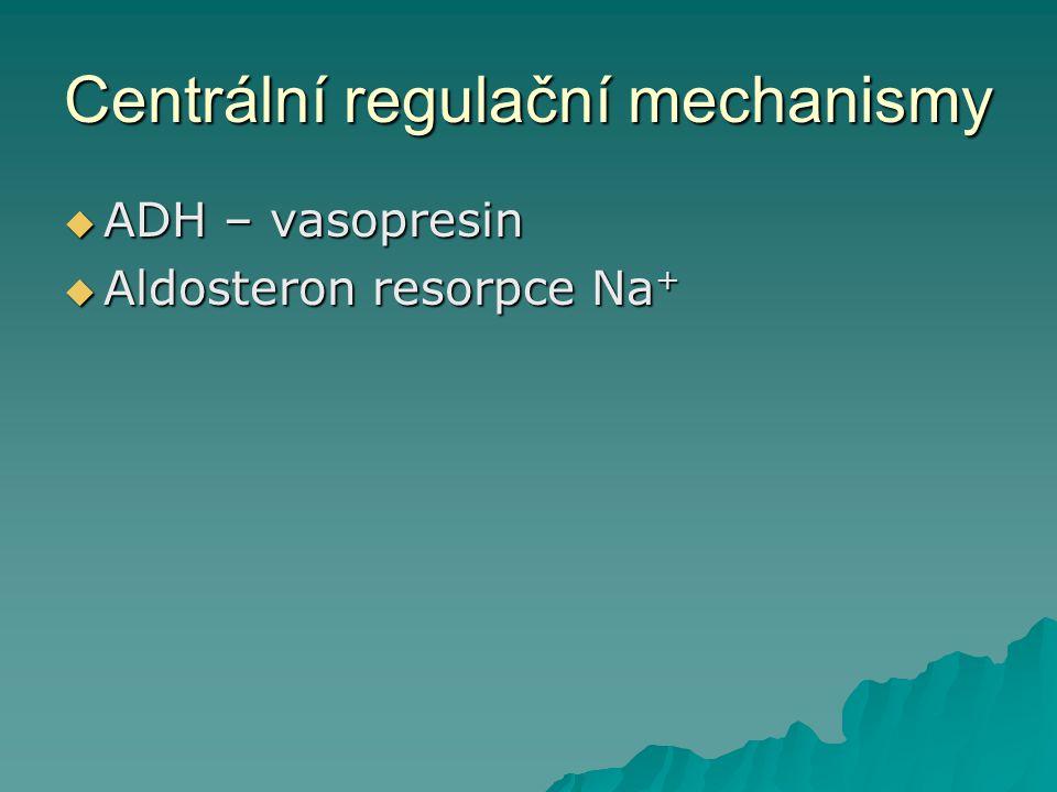 Centrální regulační mechanismy