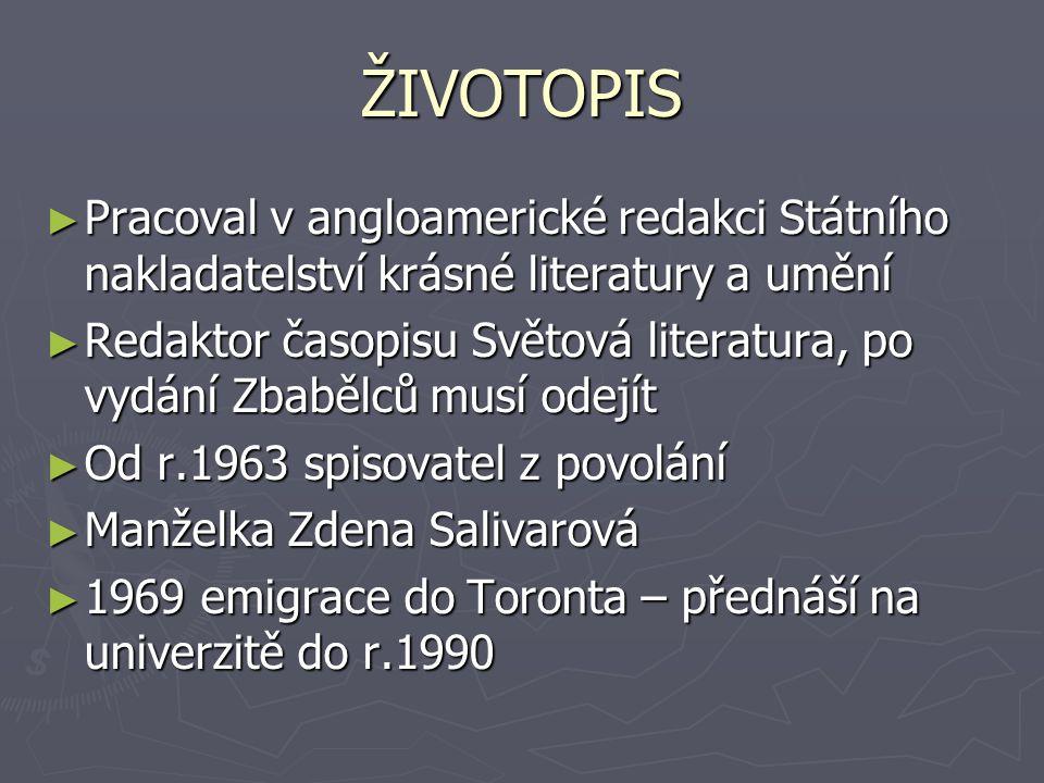 ŽIVOTOPIS Pracoval v angloamerické redakci Státního nakladatelství krásné literatury a umění.