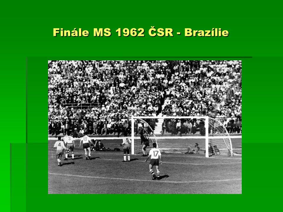 Finále MS 1962 ČSR - Brazílie