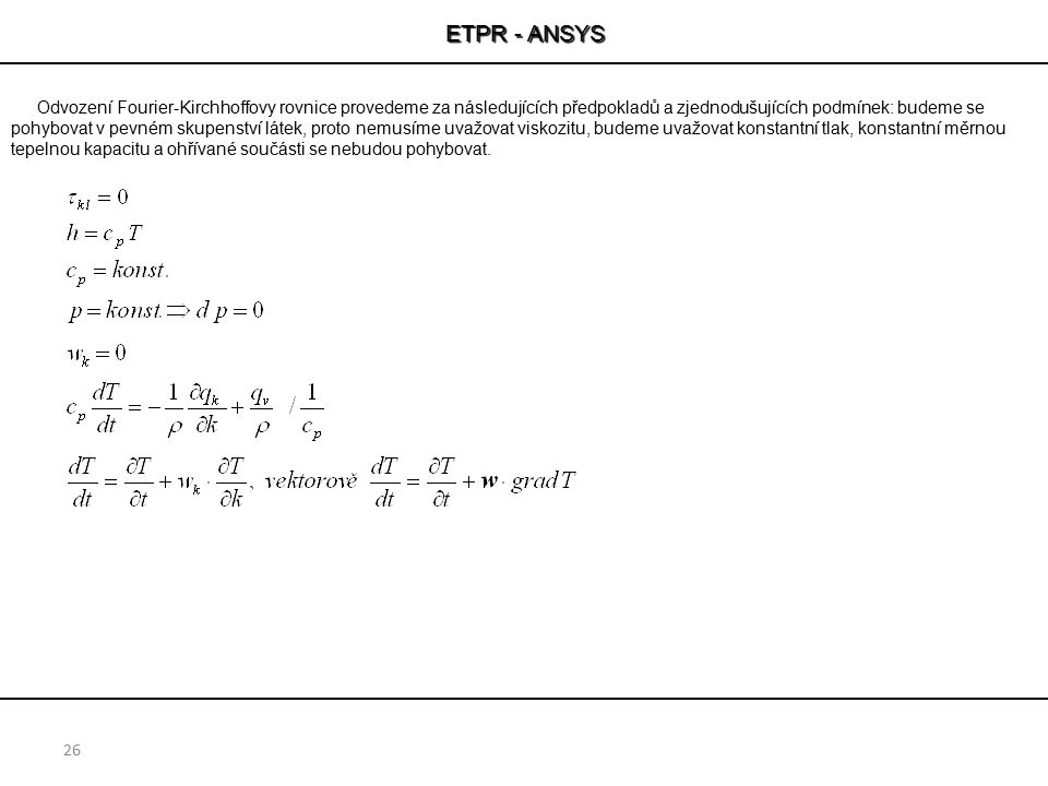 ETPR - ANSYS