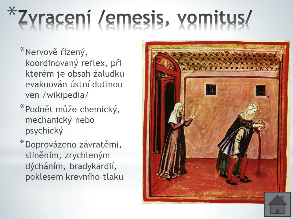 Zvracení /emesis, vomitus/