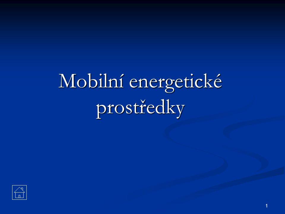 Mobilní energetické prostředky