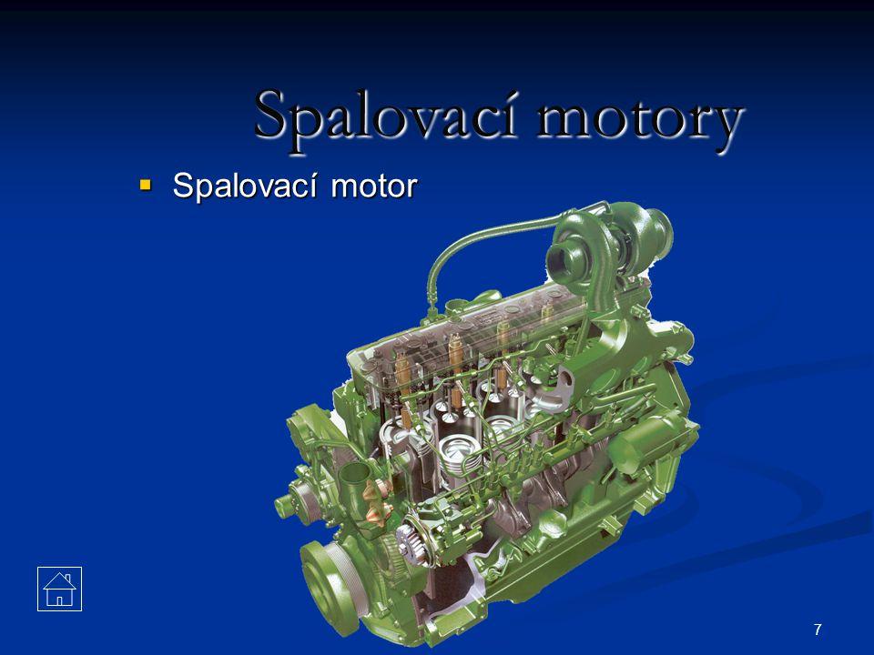 Spalovací motory Spalovací motor