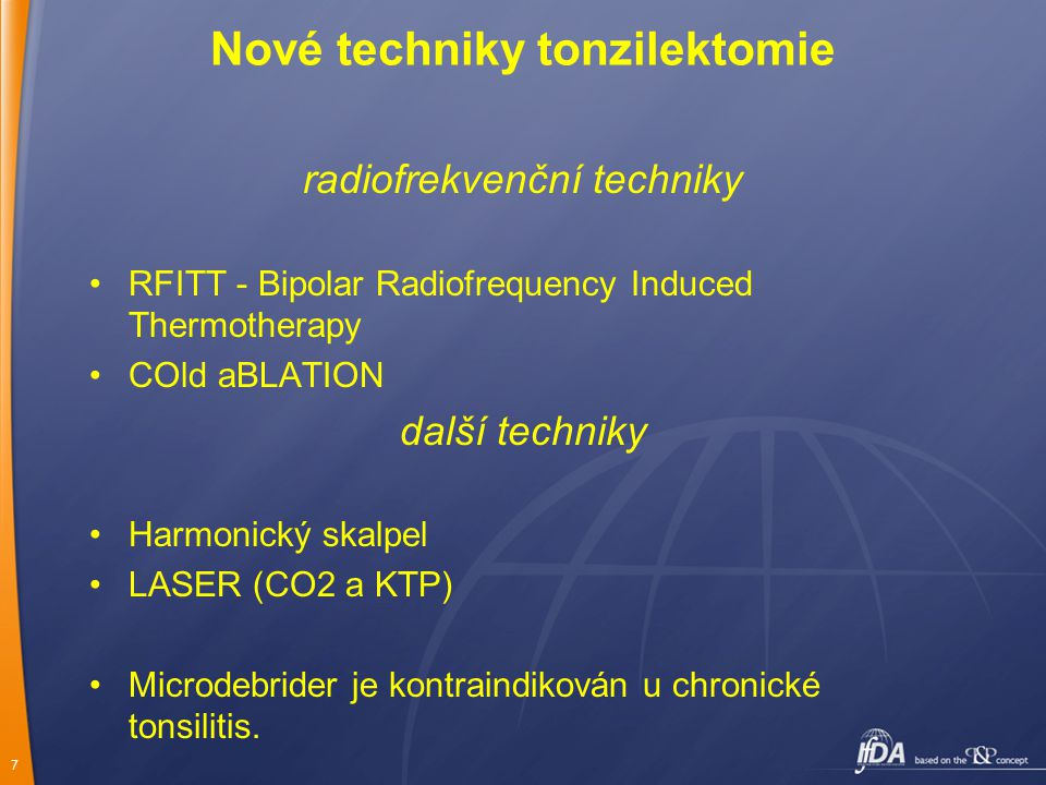 Nové techniky tonzilektomie
