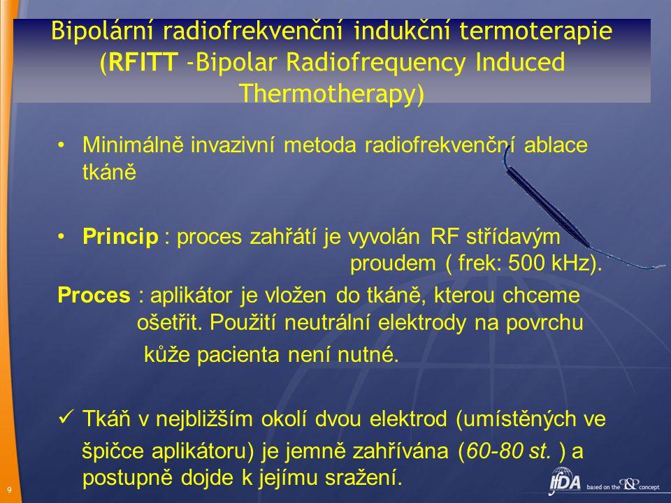 Bipolární radiofrekvenční indukční termoterapie (RFITT -Bipolar Radiofrequency Induced Thermotherapy)
