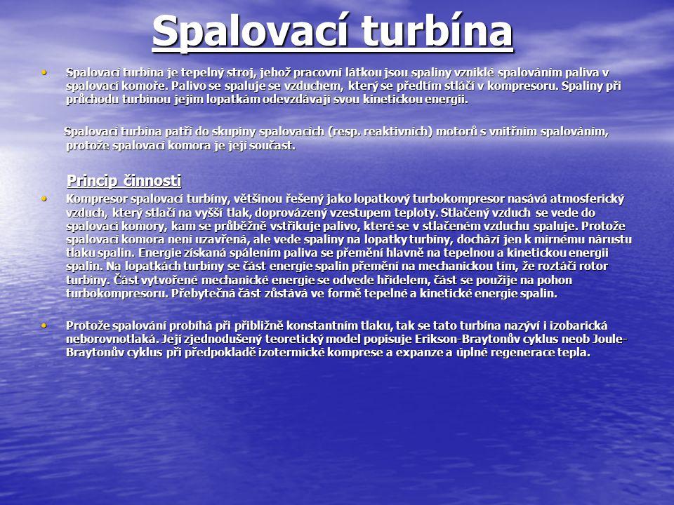 Spalovací turbína