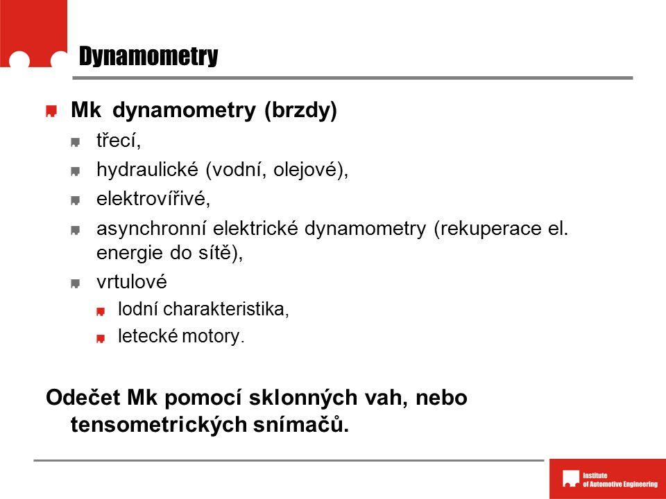 Dynamometry Mk dynamometry (brzdy)