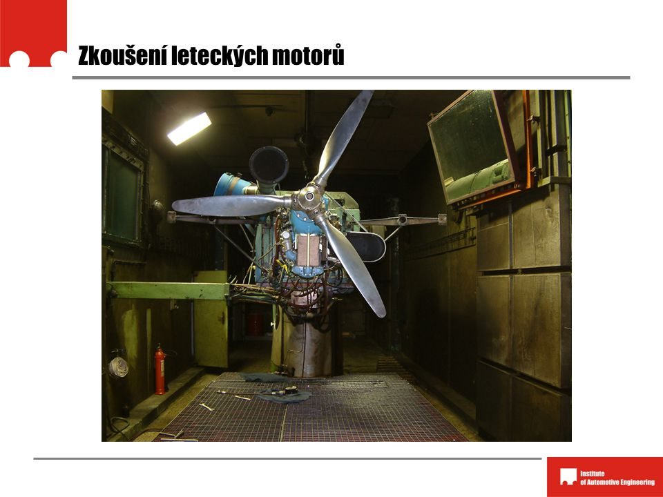Zkoušení leteckých motorů