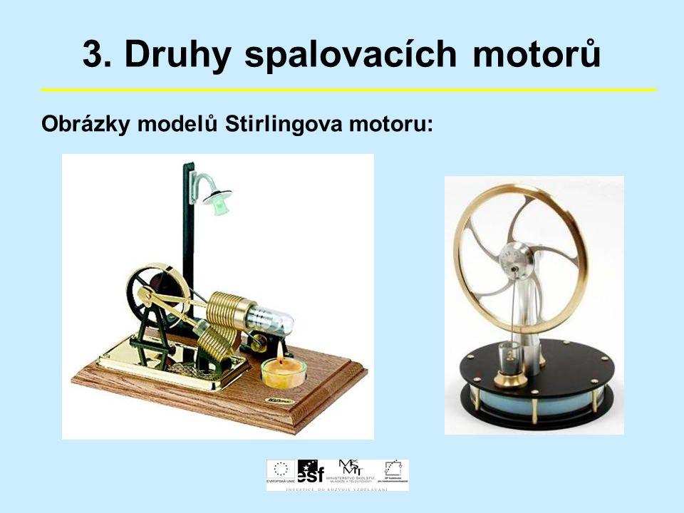 3. Druhy spalovacích motorů