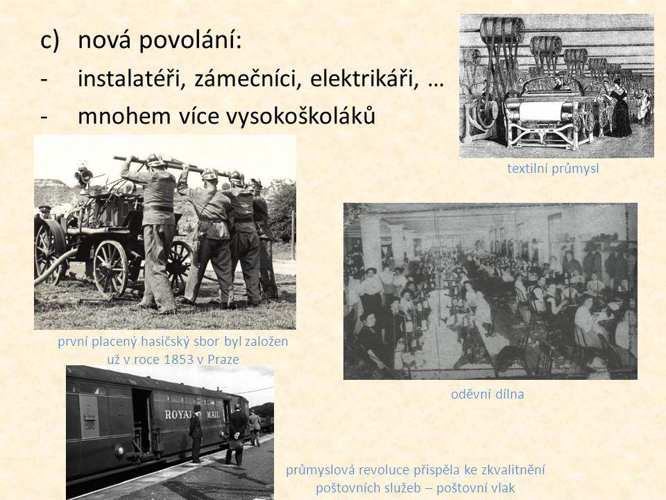 první placený hasičský sbor byl založen už v roce 1853 v Praze