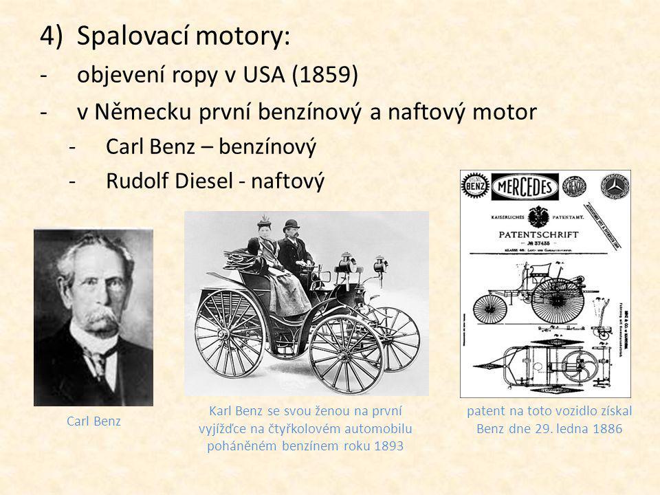 patent na toto vozidlo získal Benz dne 29. ledna 1886