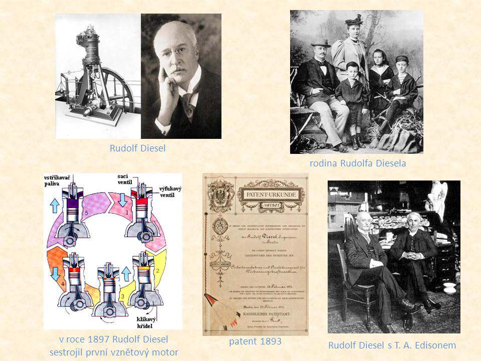 rodina Rudolfa Diesela