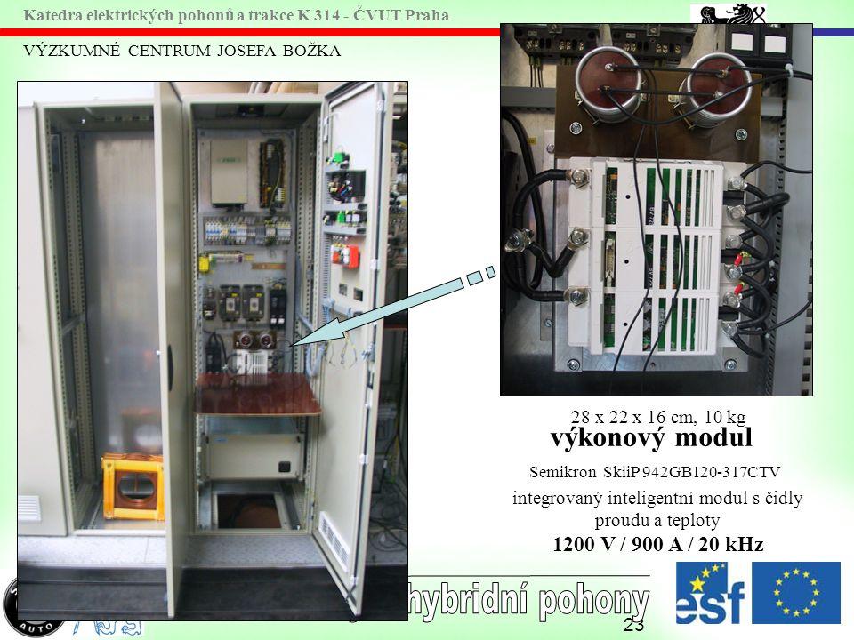 integrovaný inteligentní modul s čidly proudu a teploty