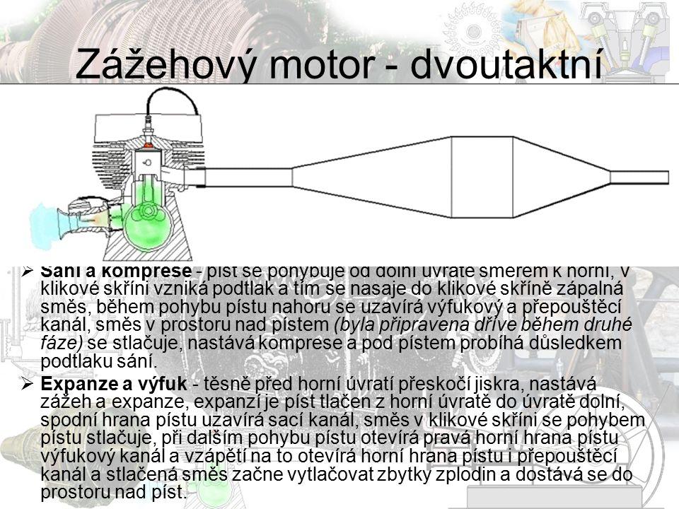 Zážehový motor - dvoutaktní