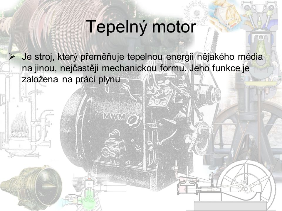 Tepelný motor